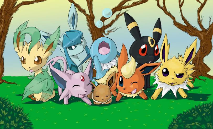 Setembro molhado figo estragado - Famille evoli pokemon ...