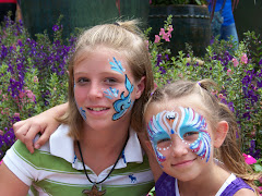 Christy & McKenly at SeaWorld 2009