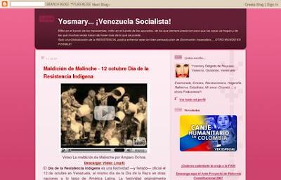 Blog politico Venezolano de yosmary 2007