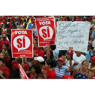 chavez chavez barquisimeto si a la reforma constitucional 2 de diciembre