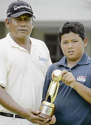anak orang melayu boleh main golf