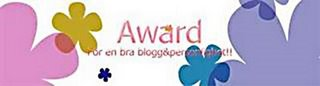 Award frn Lantliv klicka p bilden s kommer ni till hennes blogg:)