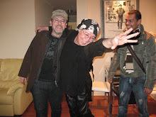 PEDRO LEMEBEL, BETO ORTIZ Y MARTIN