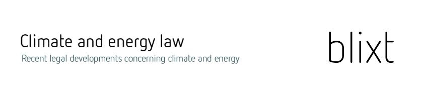 Blixt - Climate and energy law