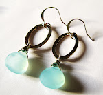 HOT OFF THE STUDIO TABLE! Raindrop Earrings