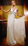 Sexy White Hot Extra Long Prom Dress Item No TBE1931
