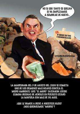 Castañeda, el desarborizador...
