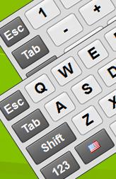 Клавиатуру с numpad виртуальную