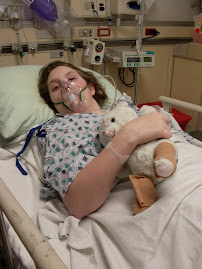 Sept. 09 Surgery on Christie's Feet