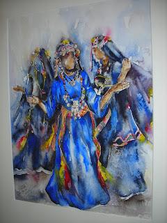 الفنانة التشكيلية الجزائرية دجانات هبريه DAHAL1.JPG