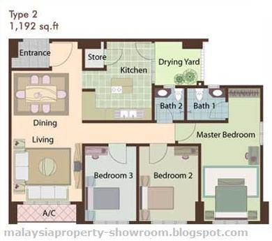 Small Bedroom Layout Plan