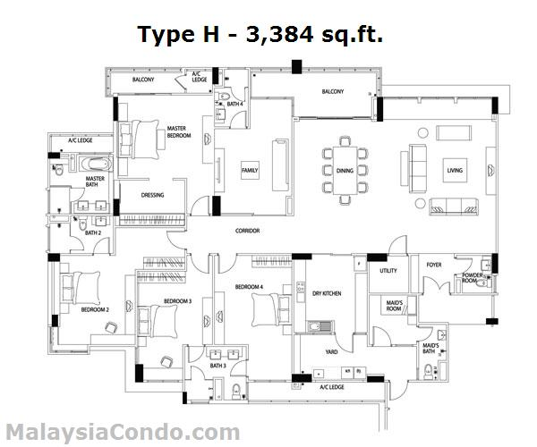Seri Hening Residence Malaysiacondo