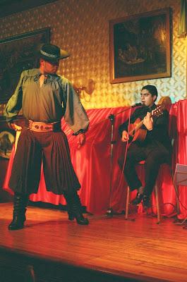 Viajeros   El gaucho y el tango