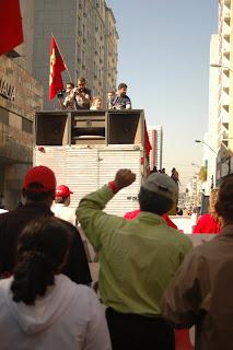 Ato do Dia Nacional de Lutas reúne mais de dois mil trabalhadores paranaenses