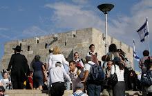 From Mamilla to Jaffa Gate - Jerusalem - Sukkot - 2010