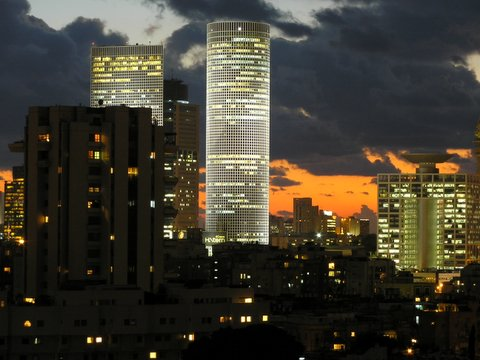 Tel Aviv - as viewed from Ramat Gan