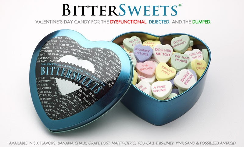 quote unquote a bitter sweet valentines day - Funny Anti Valentines Day Quotes