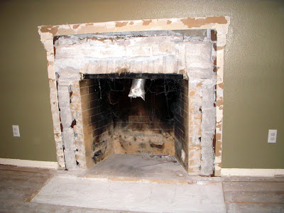 Never Without: Cast Stone Fireplace