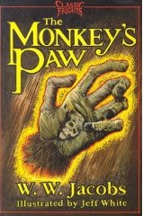 The actual book that the story of Monkey's Paw is in
