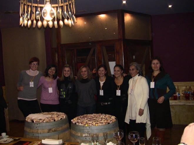 "The ""working women"": Jerneja, Eda, Cristina, Marta, Manuela, Alessandra, Luisa, Kalina."