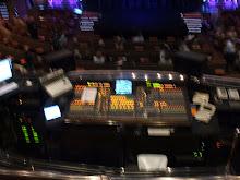 mix impianto della musica del teatro