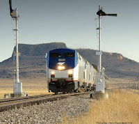 Southwest Chief in New Mexico © Amtrak