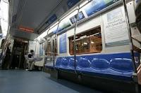 Presentación de los nuevos vagones. Mike Derer. © Associated Press