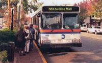 Actual autobús de Long Island
