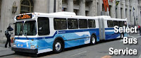 Nuevo autobús prioritario de Nueva York