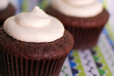 Chocolate Whiskey and Beer Cupcakes | Beantown Baker