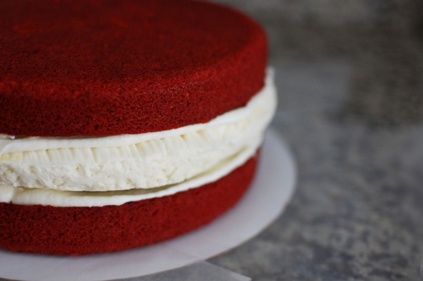 Red Velvet Cheesecake Cake Beantown Baker