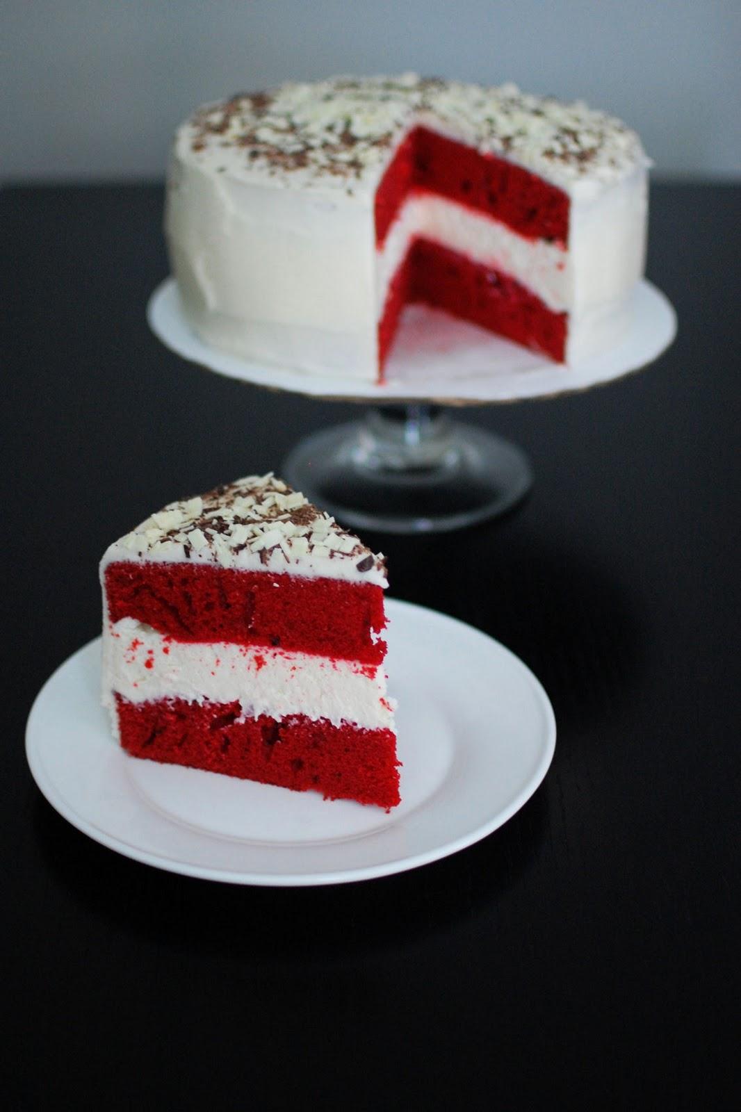 Red Velvet Cheesecake Cake | Beantown Baker
