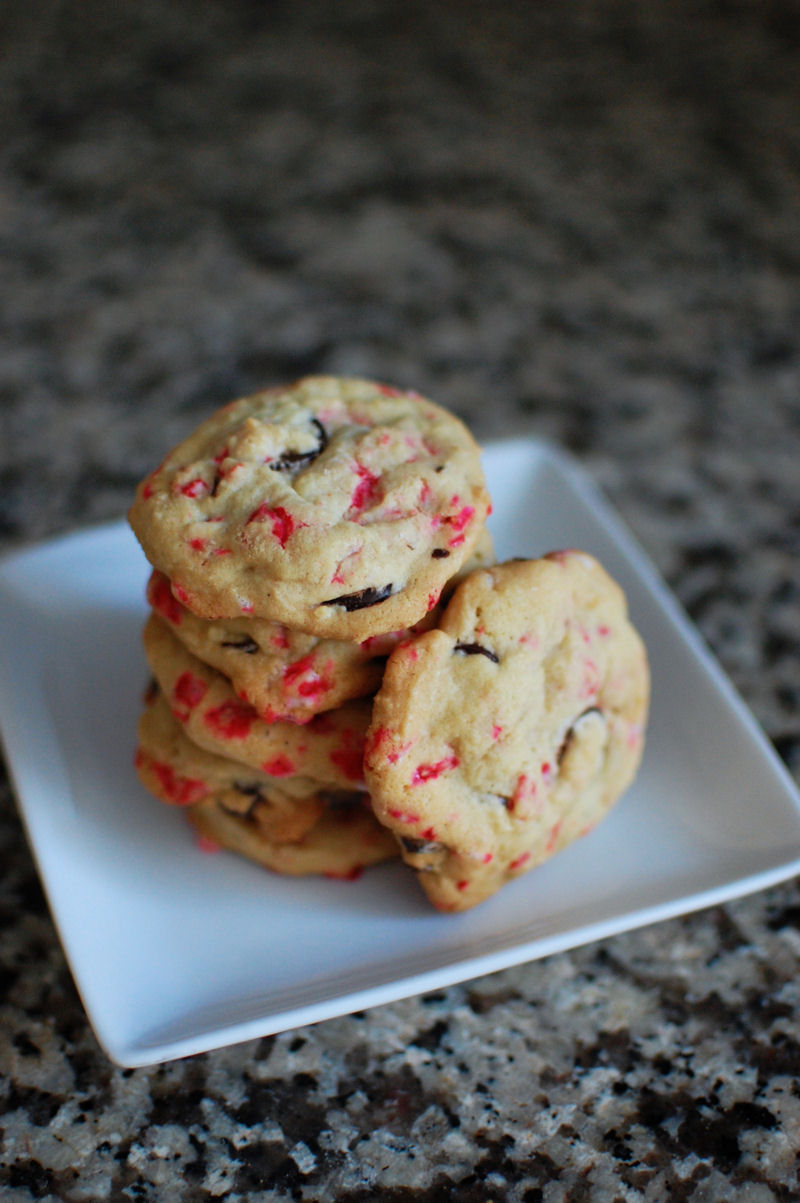 Chocolate Chip Peppermint Crunch Cookies Recipes — Dishmaps