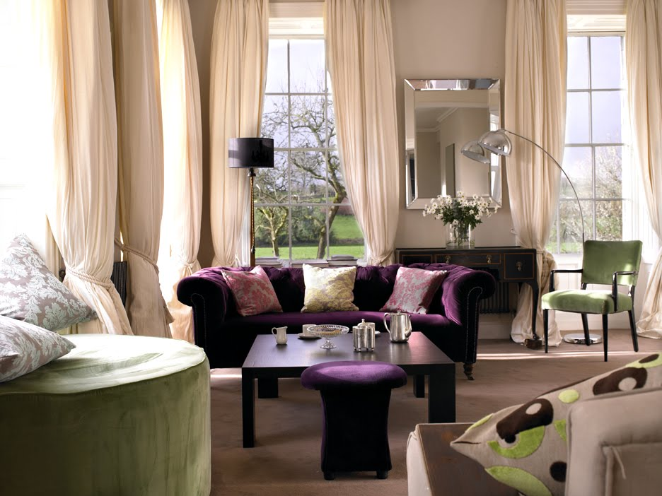 Purple+sofa Amazing Living Room Decoration With Purple Sofa Furniture