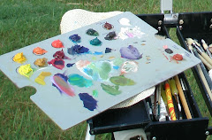 my plein air palette
