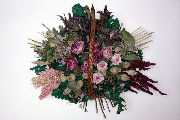 Un cesto di fiori...