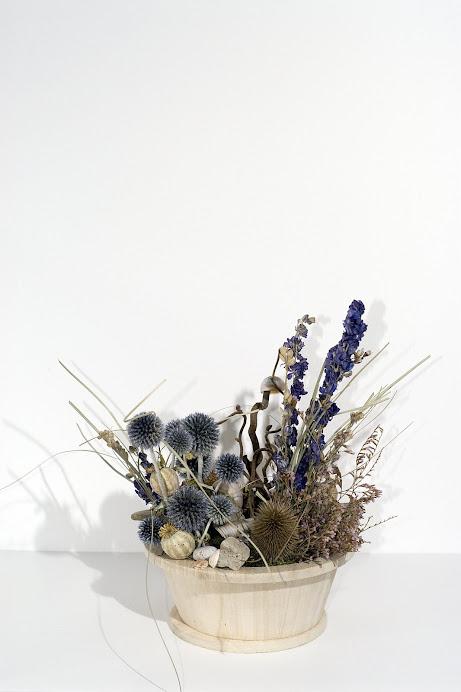 Acquarietto in Vaso di legno