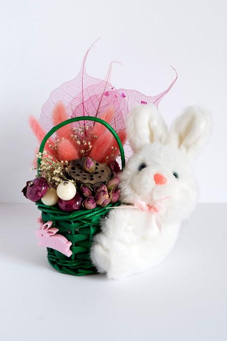 Cestino con coniglietto