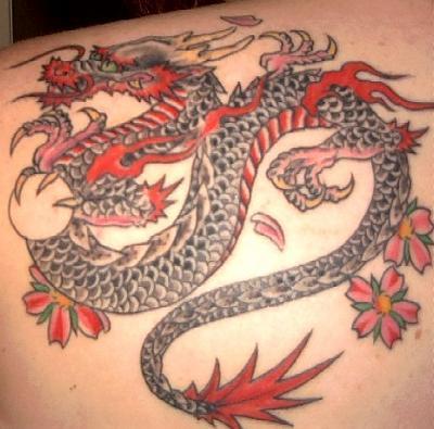 New Japanese Dragon Tattoos Sleeve