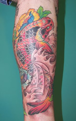 Koi Tattoos Pictures