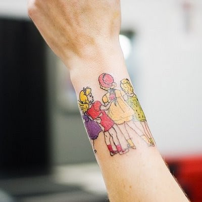 Girls With Wrist Tattoos. hot tattoo designs for wrist