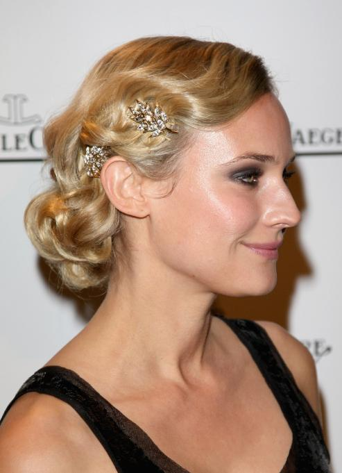 Wedding Hairstyles from Oscar's Red Carpet AnnaLynne McCord shows ponytails