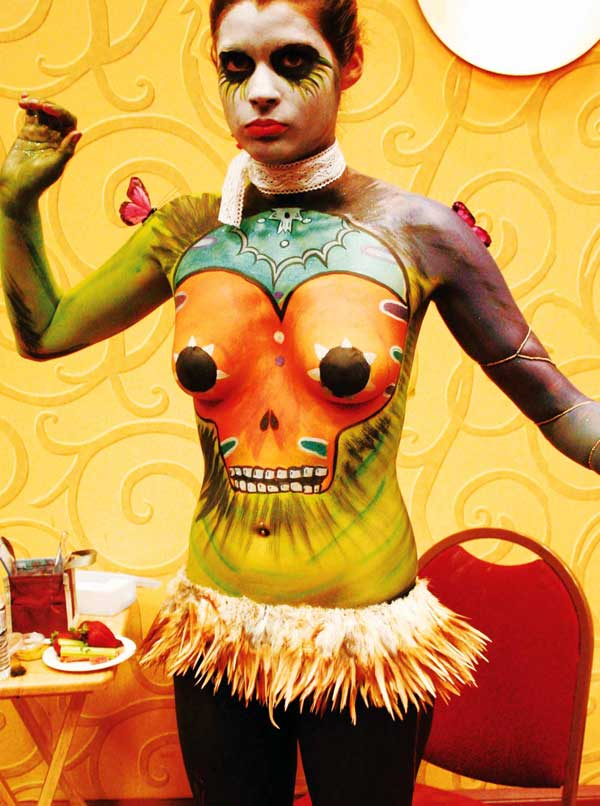 body painting events