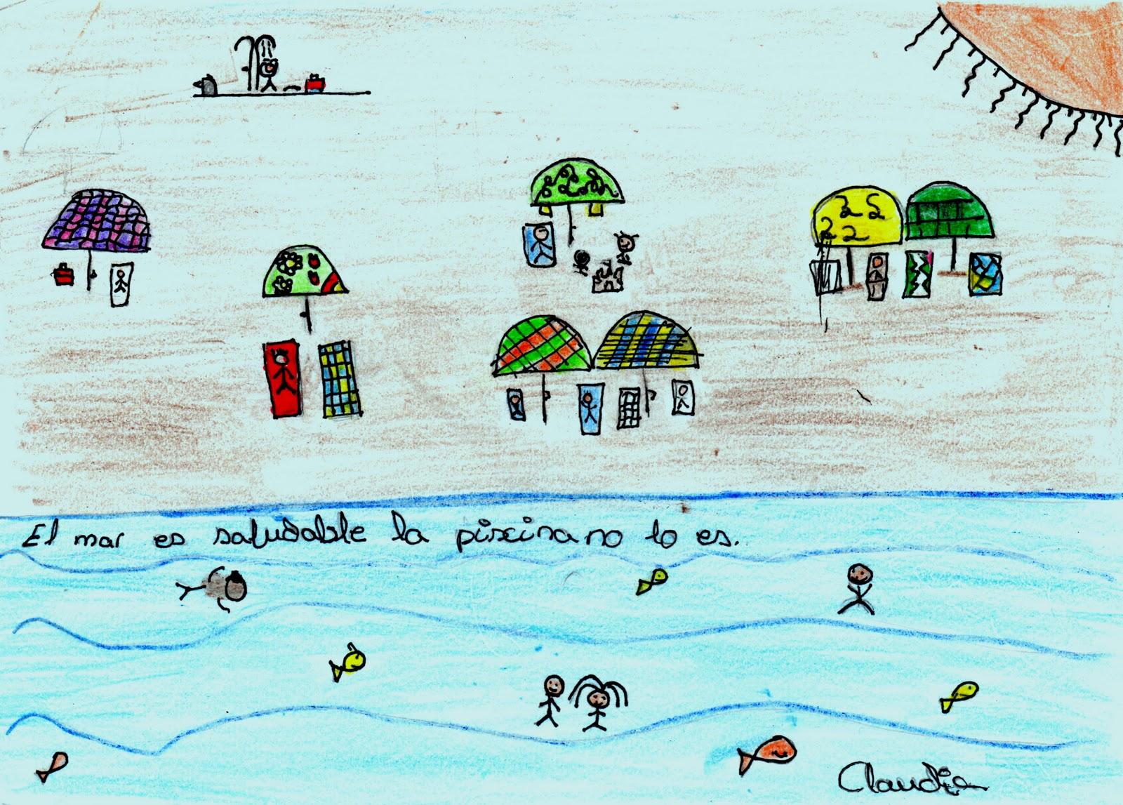 La clase de 5 a el mar y la piscina for Piscina guadalcacin
