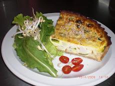 Tarta de Zapallito y Tofu $ 12