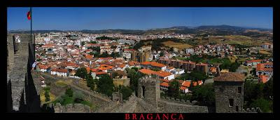 Uma vista de Bragança. Outras virão