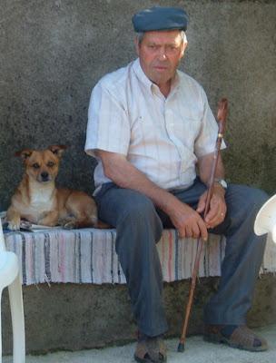 Meu primo Alípio e seu cão, o Pucci