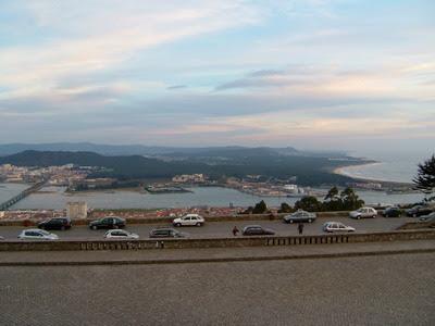 Rio Lima visto da Igreja