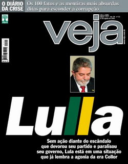 capa da revista Veja que saiu hoje