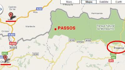 As duas cidades vistas mais de perto, e - claro - Passos e Bragança